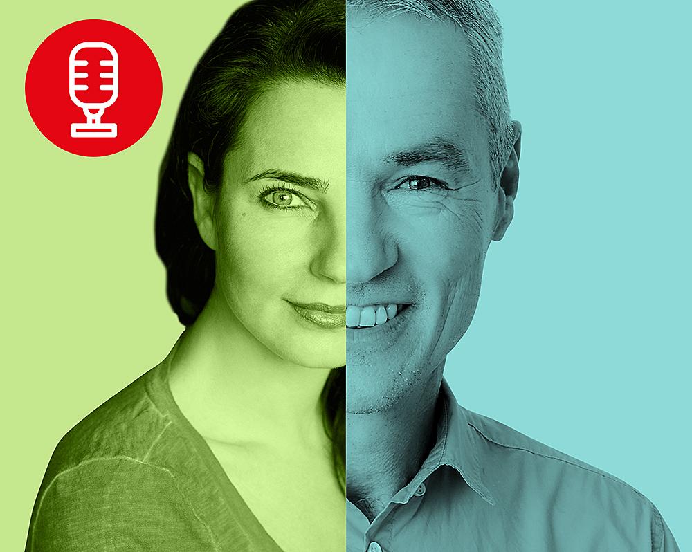 Nadja Maleh und Peter Hofmann