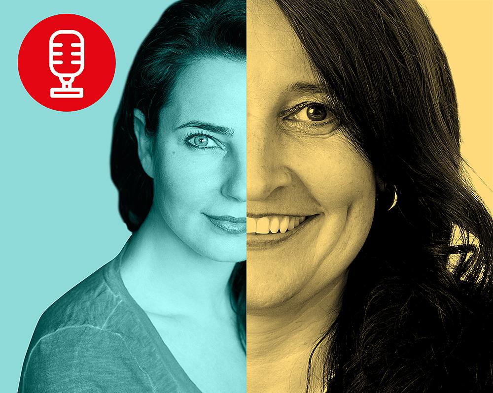 Nadja Maleh und Susanne Strobach